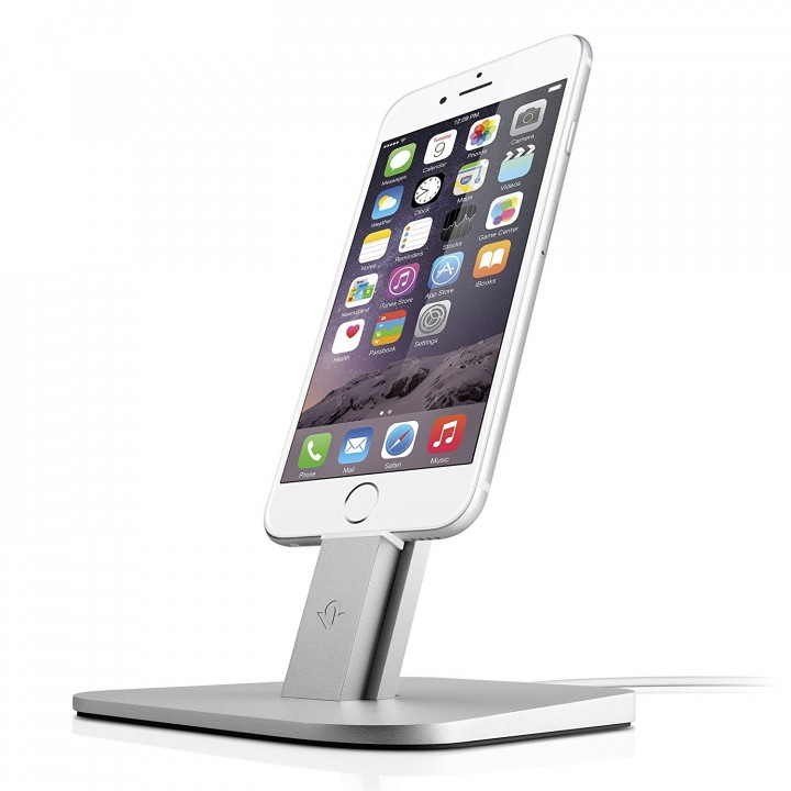 HiRise per iPhone/iPad Mini - Stand con Supporto Metallico - ARGENTO