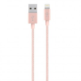 CAVO METALLICO DA LIGHTNING A USB 1,2 M - ROSE GOLD