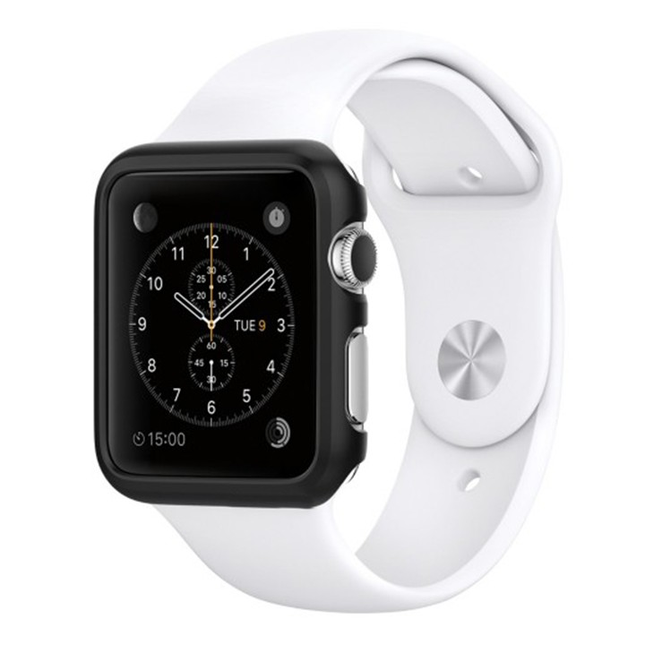 Melkco Aluminium Bumper for Apple Watch 42mm Metallic Black