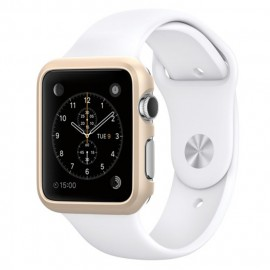 Melkco Aluminium Bumper for Apple Watch 42mm Metallic Gold