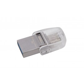 Pen Drive Kingston DataTraveler 128 GB - USB 3.1, USB Tipo C - Certificazione per Windows To Go