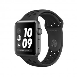 Apple Watch Nike+ Series 3 GPS, 42mm Space Grey Aluminium Case with Anthracite/Black Nike Sport Band
