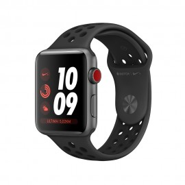 Apple Watch Nike+ Series 3 GPS + Cellular, 42mm Space Grey Aluminium Case with Anthracite/Black Nike Sport Band
