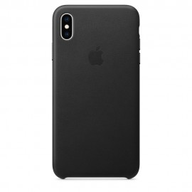 CUSTODIA APPLE IN PELLE PER IPHONE XS MAX - NERO