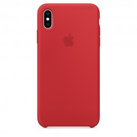 CUSTODIA APPLE IN SILICONE PER IPHONE XS MAX - (PRODUCT) RED
