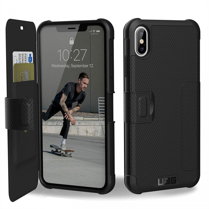 "CUSTODIA ANTIURTO METROPOLIS IPHONE 2018 6.5"" - COLORE NERO"