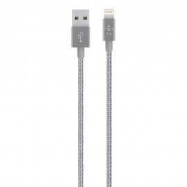 CAVO METALLICO DA LIGHTNING A USB 1,2 M - GREY