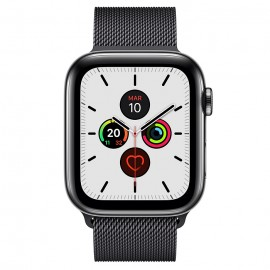 WATCH SERIE 5 CELL 44MM ACCIAIO NERO SIDERALE -LOOP MAGLIA MILANESE NERO