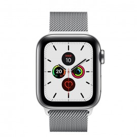 WATCH SERIE 5 CELL 40MM ACCIAIO - LOOP MAGLIA MILANESE