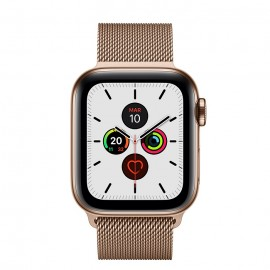 WATCH SERIE 5 CELL 40MM ACCIAIO ORO - LOOP MAGLIA MILANESE ORO