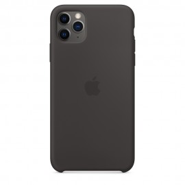 CUSTODIA APPLE IN SILICONE PER IPHONE 11 PRO MAX - NERO
