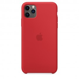 CUSTODIA APPLE IN SILICONE PER IPHONE 11 PRO MAX - (PRODUCT) RED