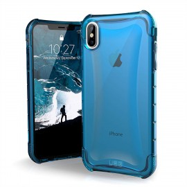"CUSTODIA ANTIURTO PLYO IPHONE 2018 6.5"" - COLORE BLU"